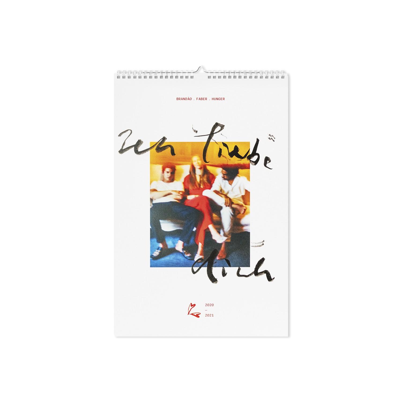 BRANDÃO FABER HUNGER – Wall Calendar Ich liebe Dich